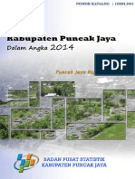 Kabupaten Puncak Jaya Dalam Angka Tahun 2014