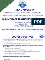 High Voltage Transmission System