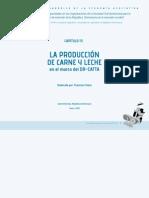 La producción de la carne y leche en el marco del DR CAFTA