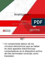 Analógica 1 Clase 3 BJT