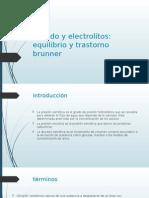 Liquido y Electrolitos