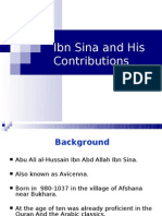 Ibn Sina & His Contributions