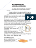 WJEC GCSE Biology - Cells & Cell Membranes