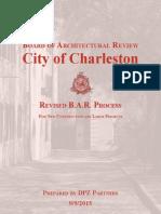 Revised BAR Process report - City of Charleston/DPZ