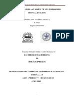 Seismic Analysis and Design of Hospital Building-libre
