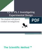 ls 1-ps 1 experimental design