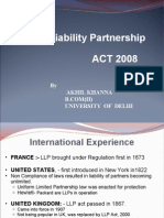 Limited Liability Partnership 01111