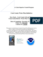Cook County Water Plan Initiatives (306-04-08)