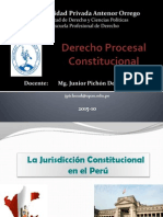 Jurisdiccion Constitucional Peru