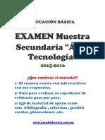 Muestra Oposicion y Permanencia Secundaria Tecnologia