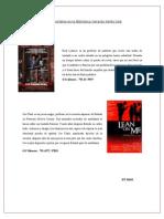 Nuevas Películas Disponibles en la Biblioteca Gerardo Sellés Solá