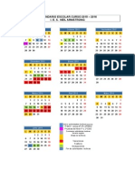 Calendario IES Neil Armstrong 2015-2016