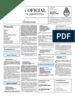 Boletin Oficial 09-03-10 - Tercera Seccion