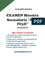 Muestra Oposicion y Permanencia Secundaria FCyE