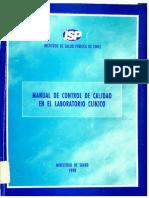 1336-Manual de Control de Calidad en El Laboratorio Clinico