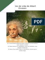 25 lições de vida de Albert Einstein.docx