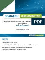 Driving Retail Sales by Innovative Loyalty Program