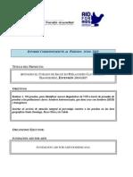 Formato Informe Narrativo Conavisida Proyecto Extension de Junio 2015