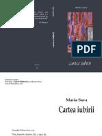 Cartea Iubirii, autor Maria Sava