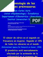 Epidemiología de las lesiones preinvasoras