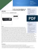Especificaciones Tecnicas de UPS 3KVA 220VAC