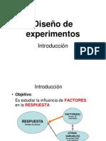 Tema 2 Introduccion Al Diseno de Experimentos