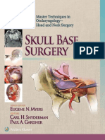 Master Techniques in Otolaryngology - Head and Neck Surgery – Skull Base Surgery_nodrm