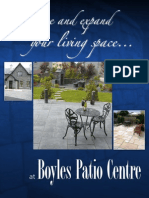 Boyles Patio Brochure