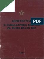 Pravilo JNA 1984 Uputstvo O Kumulativnoj M
