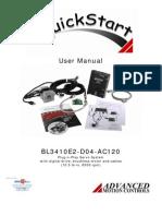 Advanced Motion Controls BL3410E2-D04-AC120