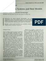 Reflections on Systems and Their Models