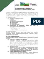 TERMO DE REFERENCIA PGRS