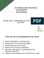 Informe de Operaciones (Electrica)Amenidades 9-09-15