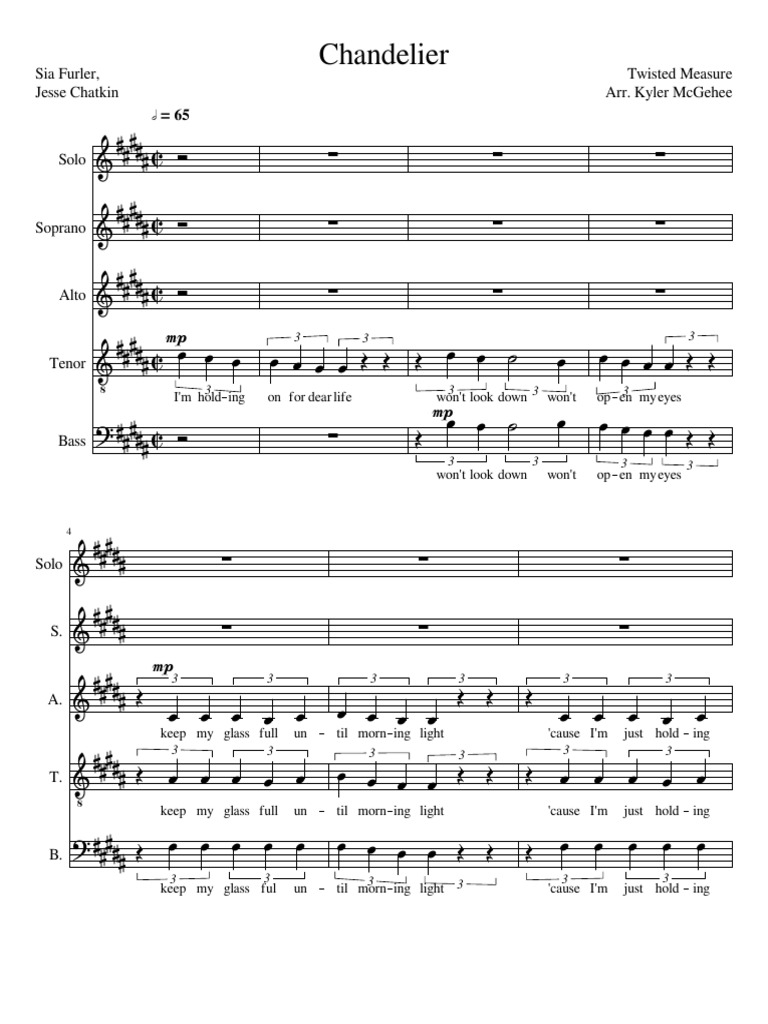 Marvellous Sia Chandelier Chords B Contemporary - Chandelier ...