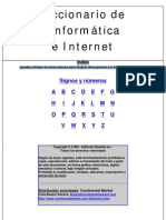 Diccionario de Informática e Internet