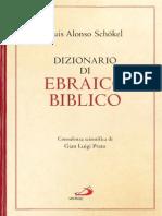 Luis Alonso Schökel - Dizionario di ebraico biblico daade1388936