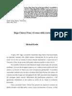 Hugo Chávez Frías e il senso della storia