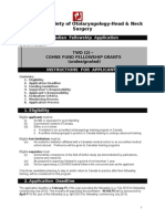 Fellowship Applicationform 2013