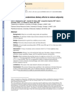 Nedeltcheva Et Al. 2010 - Insufficient Sleep Undermines Dietary Efforts to Reduce Adiposity