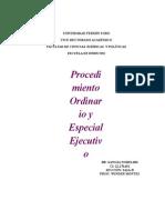 procedimientos civiles especiales