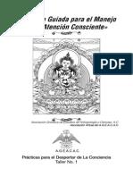 «Práctica Guiada para el Manejo de la Atención Consciente»
