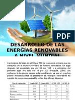 Deasarrolo de Las Energias Alternativas Anivel Mundial