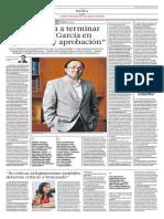 """""""Humala va a terminar peor que García en legitimidad y aprobación"""""""