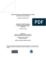 Wetland Inventory and Classification for Carlton  and South St. Louis Counties (306-07-08)