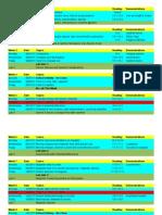2212 Schedule