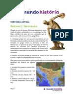 Historia Antiga_Grecia I - Formação