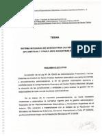 Sistema integrado de gestión parra las representaciones diplomáticas y consulares argentinas en el exterior.