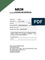 Delta AFC1212D-SP19