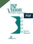 Respironics BiPAP Vision - Service Manual