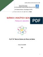 Apostila de Quimica Analitica Qualitativa